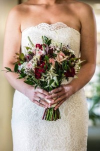 Flowers by Marry Me Floral, McHenry, for Michelle & Louis's 2017 wedding at Independence Grove in Libertyville, IL