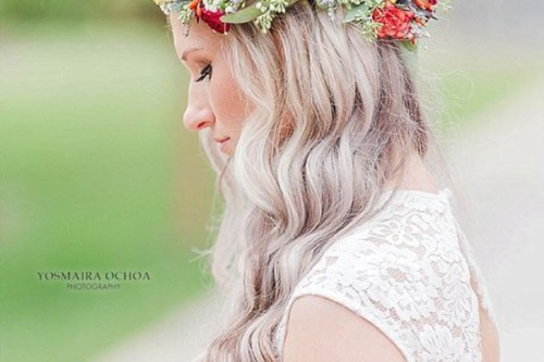 Aryn rustic collection flower crown