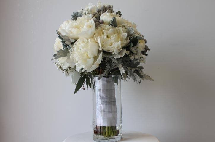 Beatrix winter collection bride bouquet