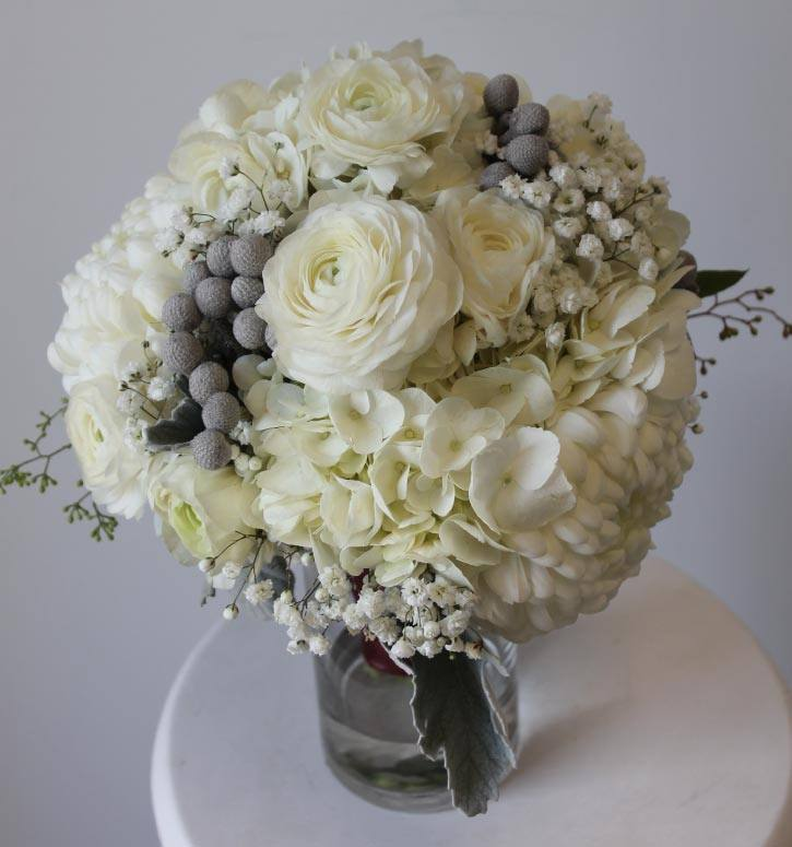 Beatrix winter collection bridesmaid bouquet
