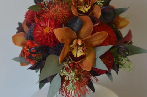 Brianna fall collection bride bouquet