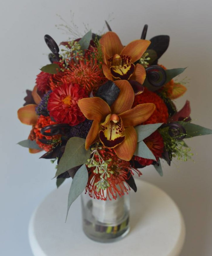 Brianna fall collection bride bouquet