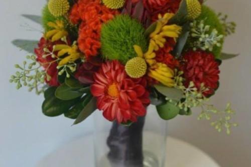 Brianna fall collection bridesmaid bouquet