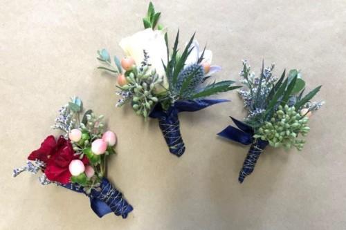 Brittany boho collection boutonniere