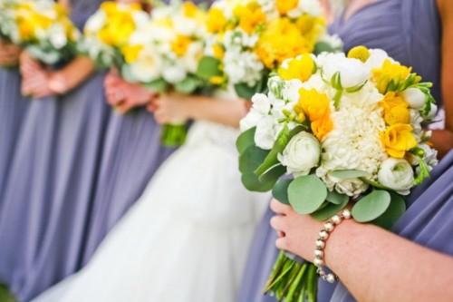 Corey romantic collection bridesmaid bouquet