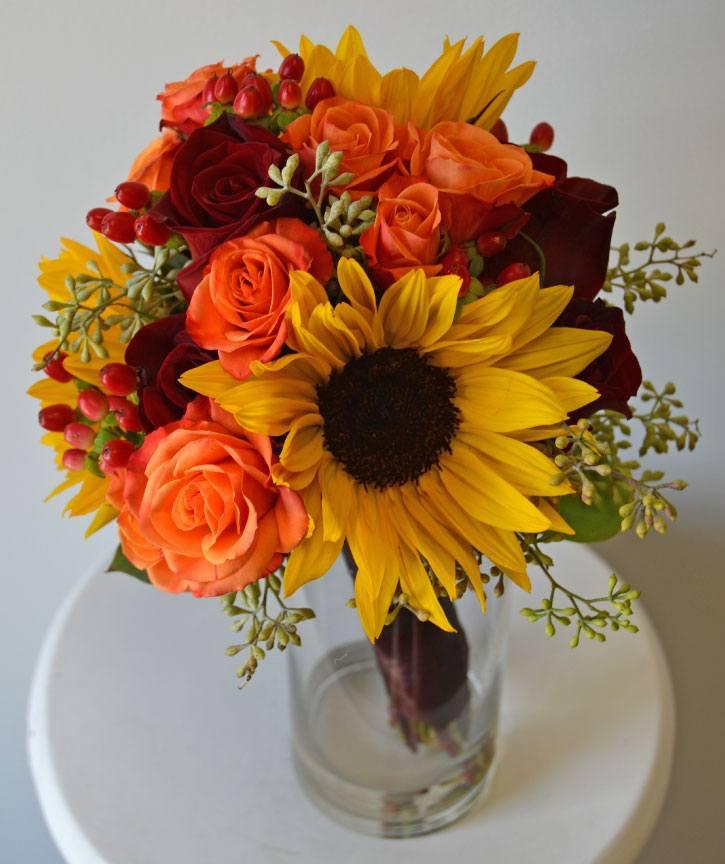 Debra fall collection bride bouquet