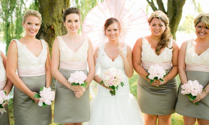 Katie elegant collection bridesmaid bouquet