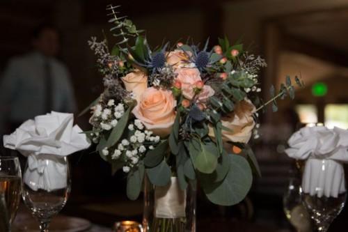 Maggie rustic elegance collection bride bouquet
