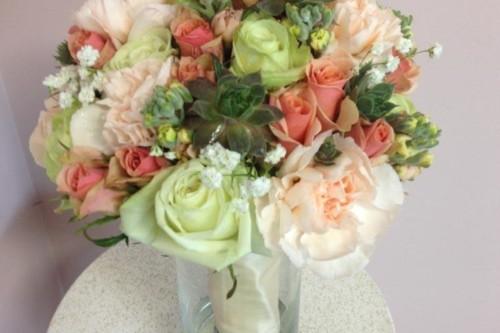 Monica vintage collection bride bouquet