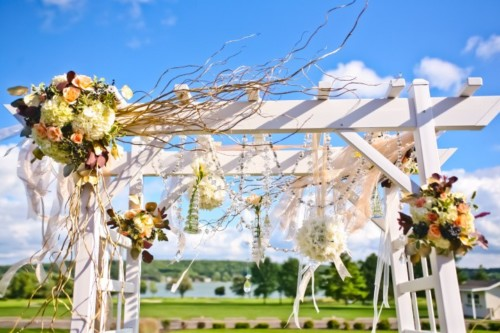 Rae romantic collection arbor decor