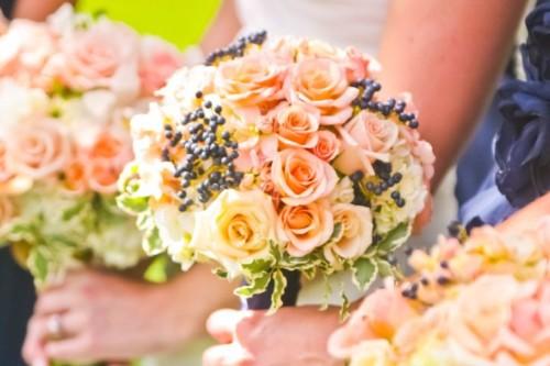 Rae romantic collection bridesmaid bouquet