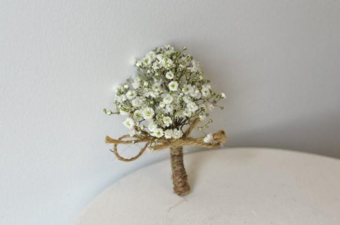 eco-friendly natural collection boutonniere