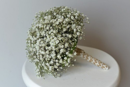 eco-friendly/natural collection bridesmaid bouquet